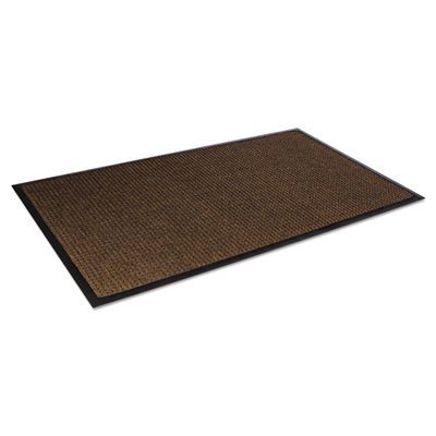 Super Soaker Diamond Mat Color: Dark Brown, Size: 45 x 69 by Crown Matting