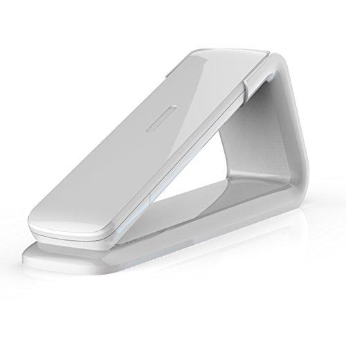 """AEG Lloyd 15 - Schnurloses 1.6\"""" Design DECT-Telefon mit Freisprecheinrichtung, Anrufbeantworter und Anruf Blocker, Weiß"""