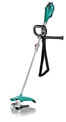 Bosch Home and Garden Freischneider AFS 23-37, 3-Flügel-Messer, Spule für Schneidfäden, 3 Schneidfäden, Zusatzgriff, Schutzhaube, Karton (950 Watt)
