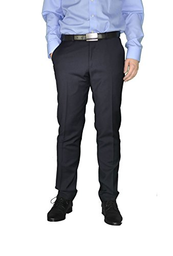 Michaelax-Fashion-Trade -  Pantaloni da abito  - Basic - Uomo Blau(10)