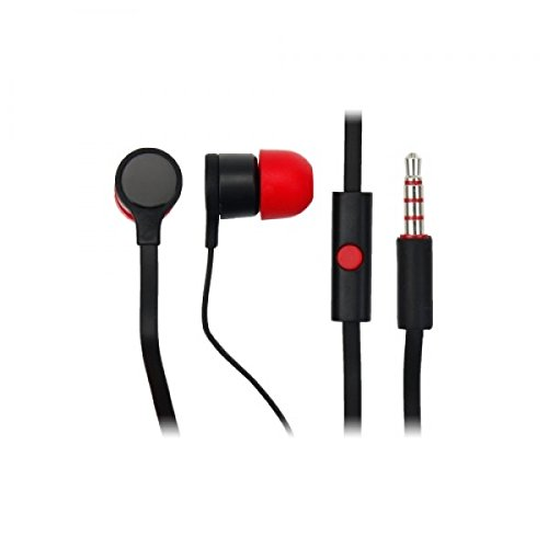 HTC Stereo Headset RC E295 (39h00014-00M) MAX300 schwarz/rot bulk Htc Tattoo