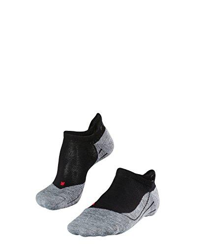 FALKE Herren Füsslinge / kurze Laufsocken RU4 Invisible - 1 Paar, Gr. 46-48, schwarz, feuchtigkeitsregulierend, Sportsocken Running