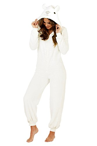 Womens Onesie Fleece Animal Size 8 10 12 14 16 18 20 22 Christmas Gift Warm Cosy - 319PyroJ2LL - Womens Onesie Fleece Animal Size 8 10 12 14 16 18 20 22 Christmas Gift Warm Cosy