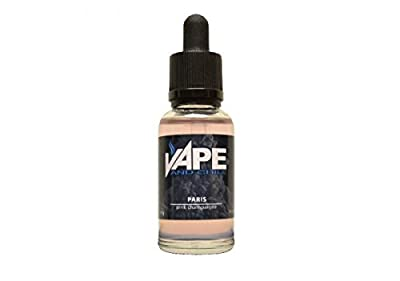 E Cigarette Liquid Pink Champagne Flavour Non-Nicotine Vaping Juice by Vape and Chill 80-20 VG-PG (30ml Glass Bottle) from Vape and Chill