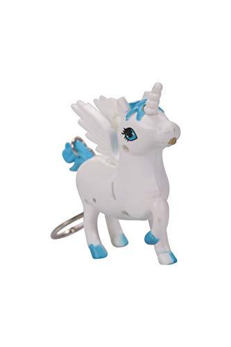 Mountain Warehouse Tiermotiv-Taschenlampe - Einhorn-Kinder-Taschenlampe mit 1 LED-Birne, Kinder-Kopf-Lampe, 2 x AAA-Batterien inbegriffen - für Kinder Weiß