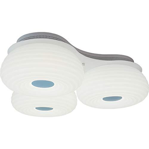 GYC Luz de Techo, luz de Techo del LED, luz de Techo de la Voz de WiFi, lámpara casera Moderna Simple del Techo de la Sala de Estar del Dormitorio del hogar (Color : White Light)
