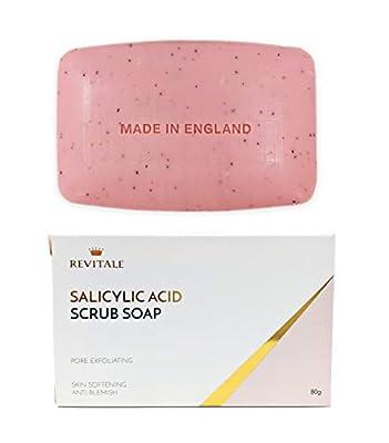 Jabón exfoliante con ácido