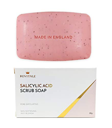 Jabón exfoliante ácido salicílico poro exfoliante