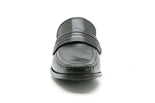 Clarks  Aston Mind, Mocassins pour homme Taille unique Black Leather