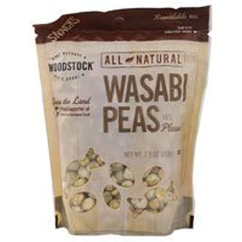Woodstock Farms Natural Wasabi Peas -- 7.5 oz by Woodstock Farms