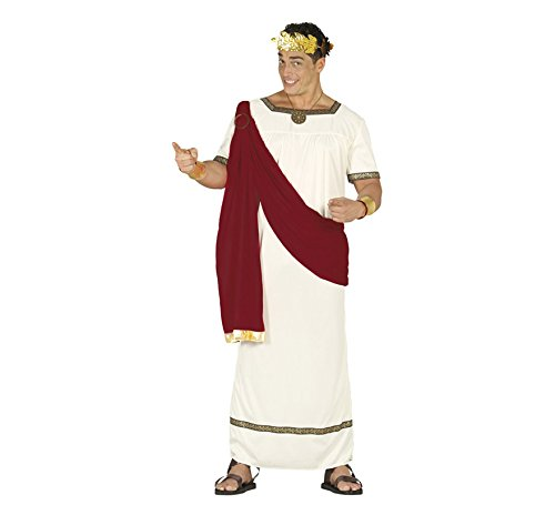 Costume Antico Romano - Cesare Augusto - Taglia Unica