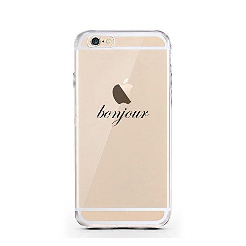 iPhone 5 5S SE Hülle von licaso® für das Apple iPhone 5 & 5S aus TPU Silikon Panda 3 Panda-Bär Bärchen süß Tiere Muster ultra-dünn schützt Dein iPhone SE & ist stylisch Case Design Schutzhülle Bumper  Bonjour