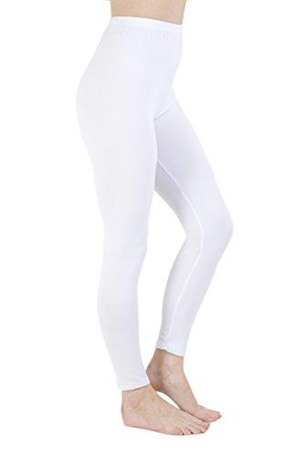Generic - Legging - Femme Blanc