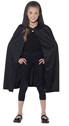 Smiffys 44203 - Mit Kapuze Cape - Umhang Kostüm