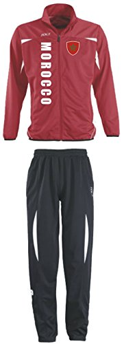 Aprom-Sports Marokko Trainingsanzug - Sportanzug - S-XXL - Fußball Fitness (M)