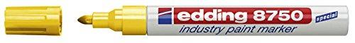 edding Lackmarker edding 8750 industry paint marker, 2-4 mm, gelb