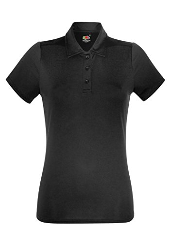 Fruit of the Loom Ladyfit Performance Polo - 5 Colours / XS-2XL Red