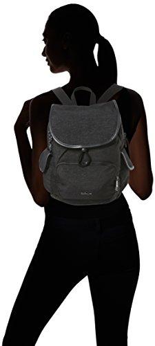 Kipling - City Pack S, Zaini Donna Blu (Spark Graphite)