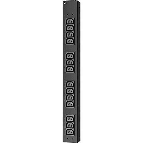 APC Rack PDU, Basic, Half Height, 100-240V/20A, 220-240V/16A, (14)