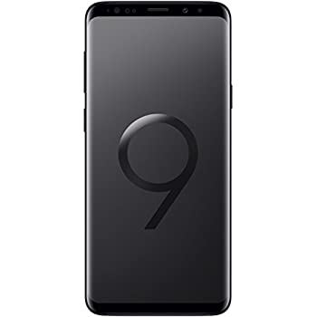 "Samsung Galaxy S9+ Smartphone, Nero (Midnight Black), Display 6.2"", 64 GB Espandibili, Dual SIM [Versione Italiana]"