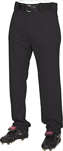 Rawlings Herren Halb-Relaxed Pants, Herren, schwarz, Large (Rawlings Baseball Hose)