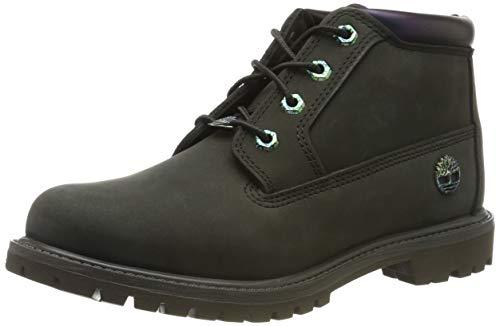 Timberland Nellie Double Waterproof, Zapatillas Chukka para Mujer, Verde Dark Green Nubuck, 35.5 EU...