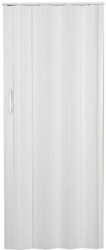 Falttür Schiebetür Tür Kunststofftür weiss farben Höhe 202 cm Einbaubreite bis 71 cm Doppelwandprofil Neu