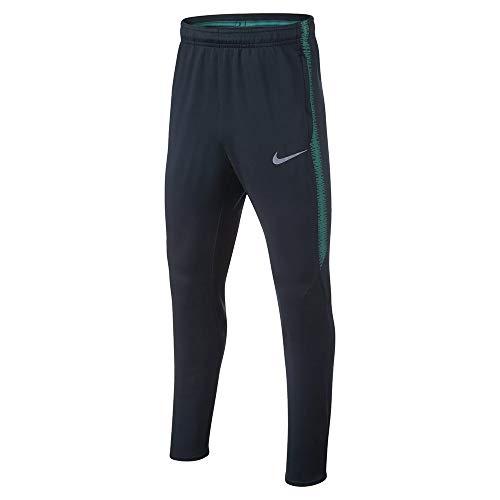 Nike THFC Y NK Dry SQD Pant KP - Pantalón, Unisex Infantil, Multicolor(Armory Navy/Neptune Green)