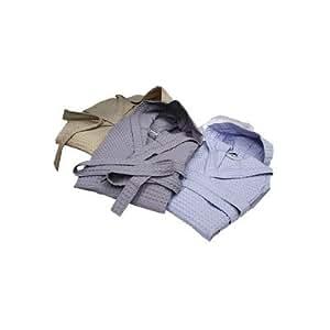 Peignoir cocoon gaufre taille :  m, couleur :  blanc