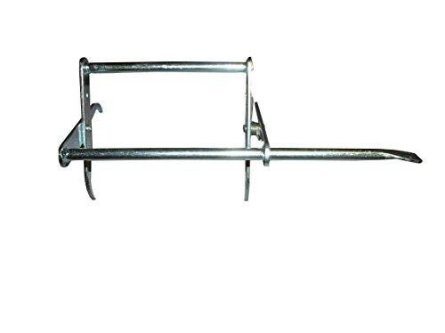 Pinza leva telaini in acciaio zincato per apicoltura