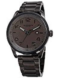 Akribos XXIV Men's Quartz Stainless Steel Casual Watch, Color Black (Model: AK956BR)
