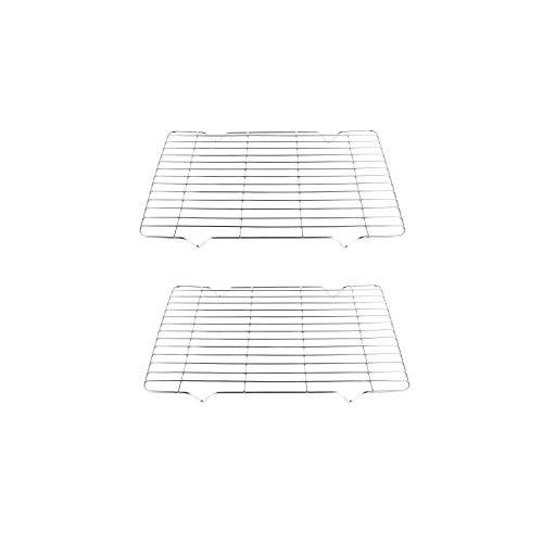 FindASpare Ersatz-Grillrost/Gittergitter 344 x 222 mm für Hotpoint Ofen Herd (2 Stück) - Ersatz-ofen-racks