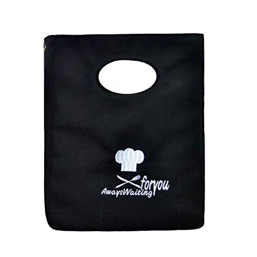 Black Temptation Sac fourre-Tout à Lunch en Coton réutilisable Mignon