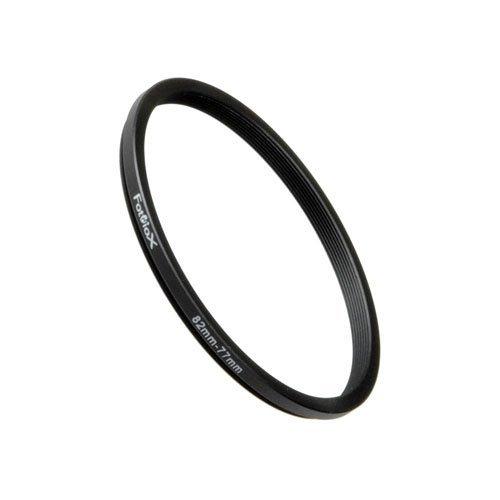 Fotodiox Metall Step Down Filteradapter Ring, eloxiert Schwarz Metall 82mm-77mm, 82-77 -- Objektivgewinde auf Filtergewinde 77 Mm Ring