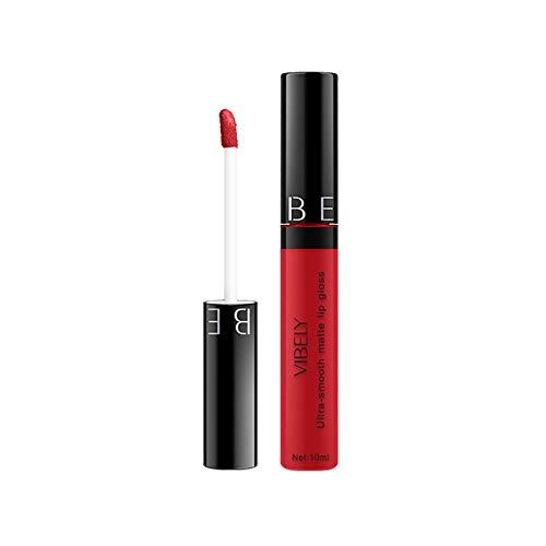 Brillant liquide cosmétique de rouge à lèvres imperméable de longue durée trada Glaçure à lèvres mate de 29 couleurs, rouge à lèvres antiadhésif Sexy Baume à Lèvres