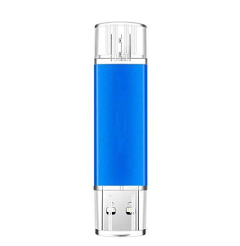 Smartphone USB-Stick USB Flash Memory Stick Thumb Pen Micro USB/USB 2.0 Port OTG Schrubben Aluminiumlegierung Mobiltelefon Computer Dual Use (4GB) - 4 Gb Speicherplatz Auf Der Festplatte