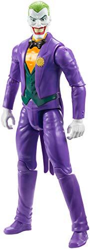 ¡Siembra el casos en la ciudad de Gotham junto a uno de los mayores enemigos de Batman! ¡Con la figura The Joker Príncipe Payaso de Batman Missions! Consigue esta magnífica figura con once puntos de articulación y el reconocible traje lila, una recre...