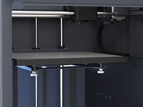 Monoprice 300 3D-Drucker - Schwarz mit großer beheizter Bauplatte (280 x 250 x 300 mm) Vollständig geschlossen, Touchscreen, unterstütztes Nivellieren, einfaches WLAN, 8 GB interner Speicher - 5