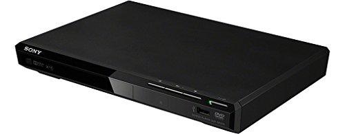 Sony-DVP-SR370-Lettore-DVD-Compatibile-con-Xvid-CDRRW-MP3-JPEG-USB-Nero