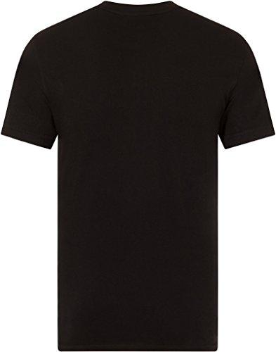 Fila Herren T-Shirt Schwarz