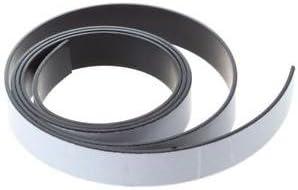 SLB Works 1M Ribbon Magnet Magnetic Flexible Roller Strip Magnet Adhesive Strip 10x1.5m BT