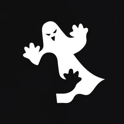 TEXLAB - I'm a Ghost - Damen T-Shirt Schwarz