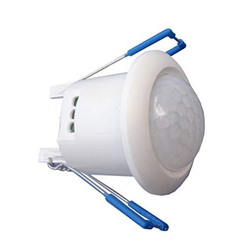 Bewegungssensor Lichter - 12V Embedded LED Infrarot Sensor Schalter Nachtlicht Sensor LED Decke für Badezimmer Schlafzimmer Küche -