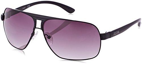 Guess Herren GU6512BLK3566 Sonnenbrille, Schwarz (Negro), 66