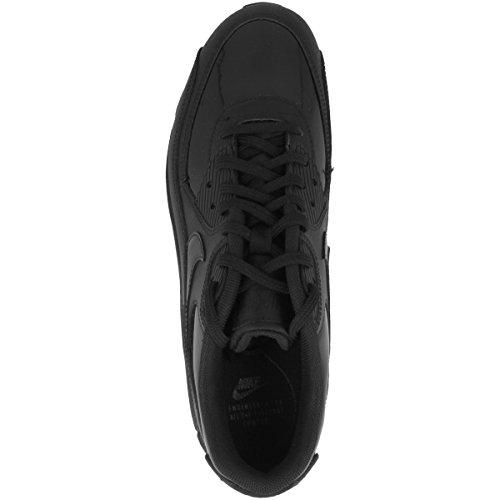 Nike Wmns Air Max 90 Leather, Chaussures de Gymnastique Femme noir