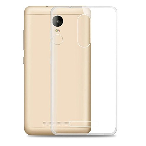 Electrónica Rey® TPU Silicone Gel Case for Xiaomi Redmi Note 3, Ultra-Thin 0.33mm, Transparent, Silicone, High Strength and Flexibility