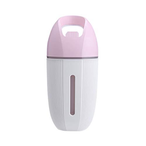 Preisvergleich Produktbild Hukz USB-Auto-Luftbefeuchter, Tragbarer Minihaus-USB-Luftbefeuchter-Reiniger Zerstäuber-Luftreiniger-Diffusor (Pink)