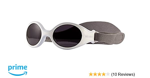 3c64daee2685 BEABA Clip Strap Sunglasses for Newborns (Light Blue)  Amazon.co.uk  Baby
