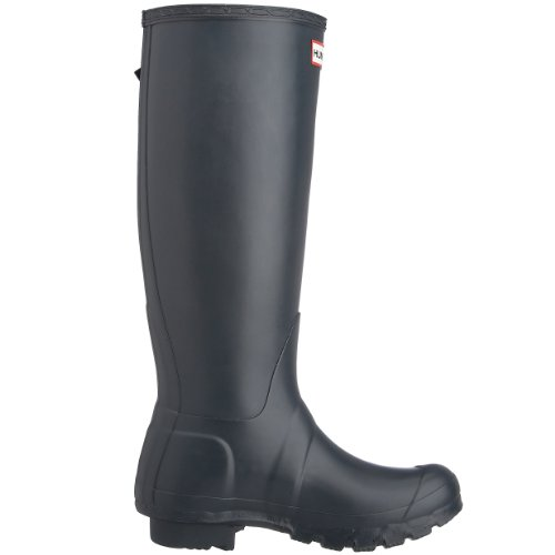 Hunter Original Adjustable Wellies, Boots mixte adulte Bleu Marine