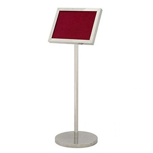 Casa-Padrino Luxury silver plate stand - ideal for hotels, restaurants, cafes, clubs, discos, fairs